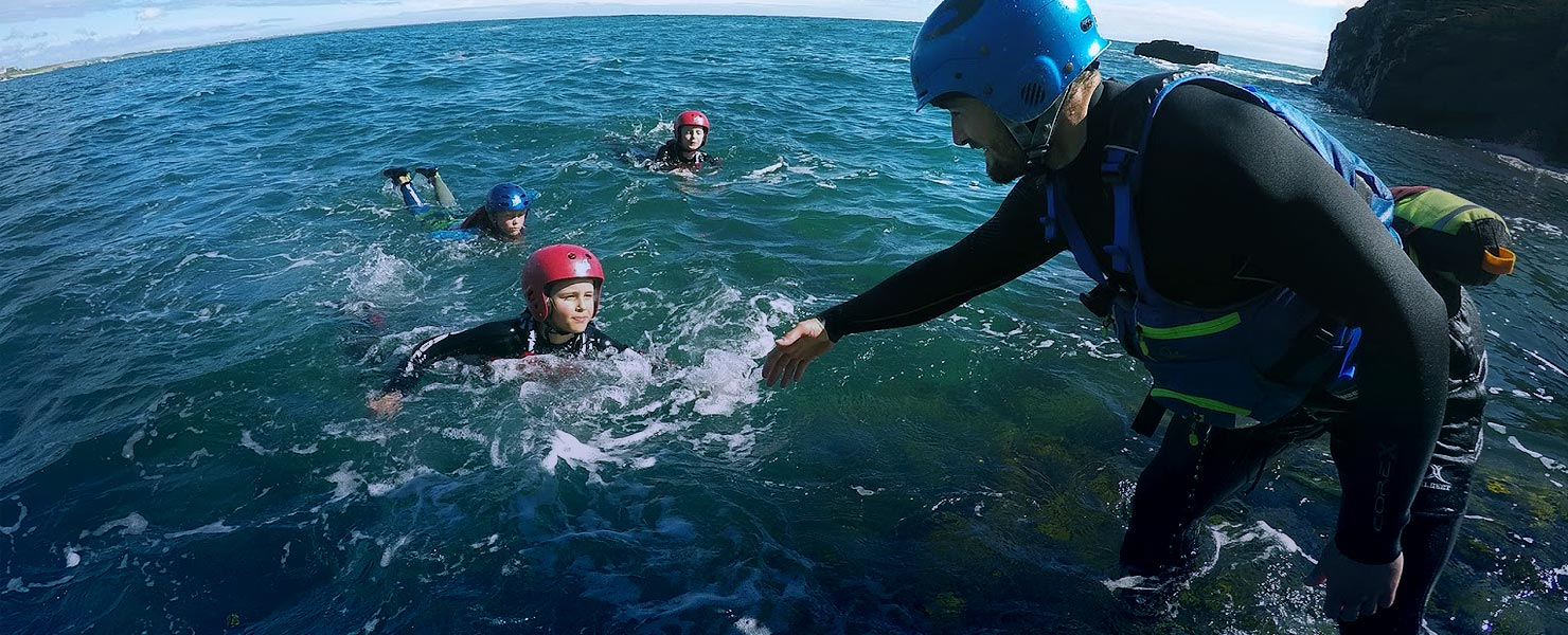 Unforgettable coasteering adventures in the Isle of Man