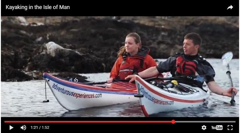 Short film following Keirron Tastagh and daughter Alice, on a sea kayaking journey along the Isle of Man coastline.