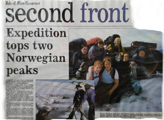 Norway-2003-Inaugral-Youth-Scholarship-Expedition-led by Keirron Tastagh