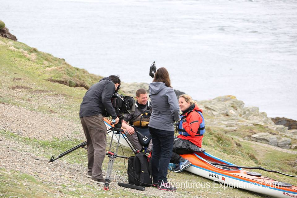 Paddle with Beccy Meehan - BBC North West Tonight, featuring the Isle of Man