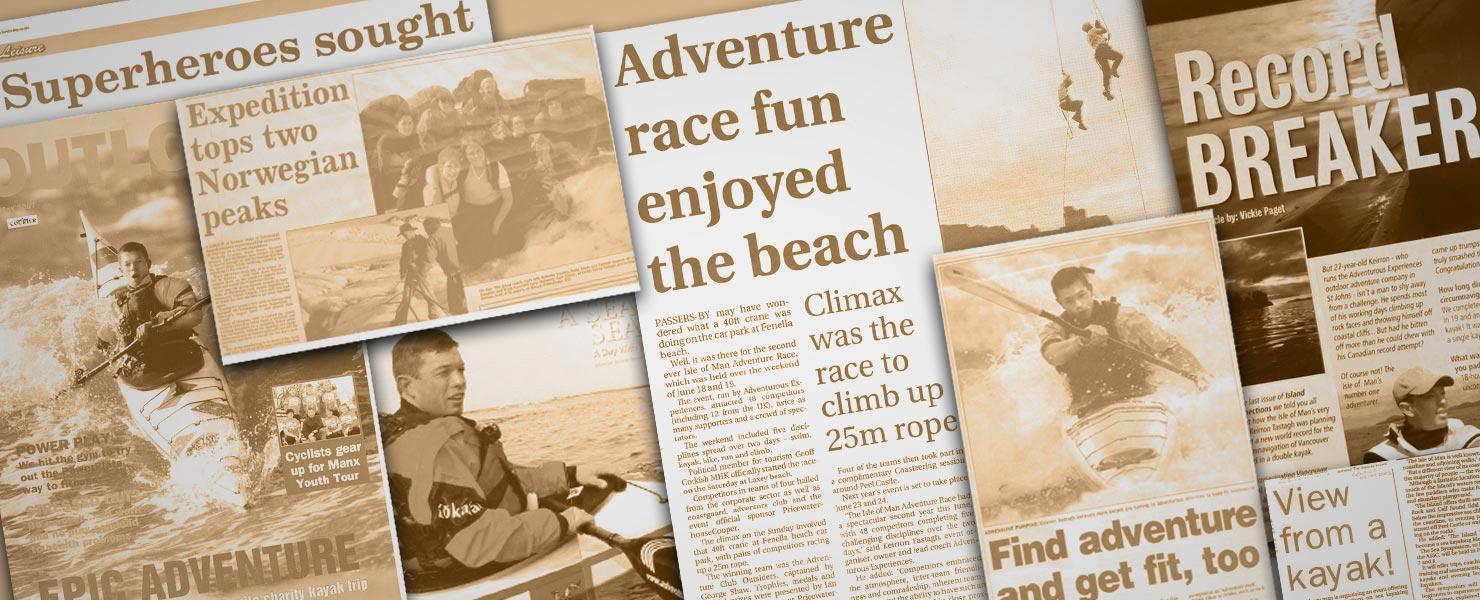 Adventurous Experiences in the Media