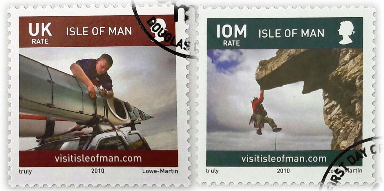 Isle of Man Stamps featuring Keirron Tastagh